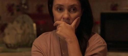 Os rumos de Thelma na trama ainda estão indefinidos. (Reprodução/TV Globo)