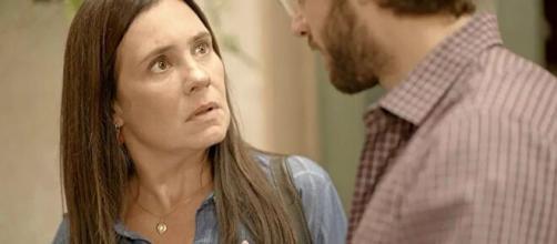 Thelma é uma personagem complexada em 'Amor de Mãe'. (Reprodução/TV Globo)