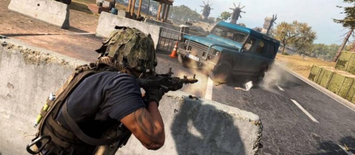 Call Of Duty Warzone Players Experience Creepy Black Hole Visual Glitch
