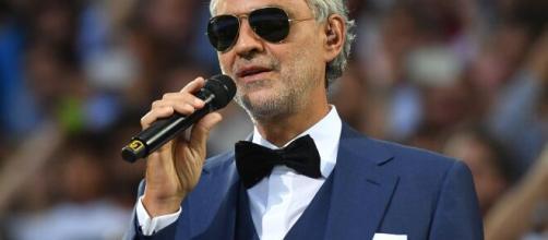 Andrea Bocelli sarà tra gli ospiti di Fabio Fazio.