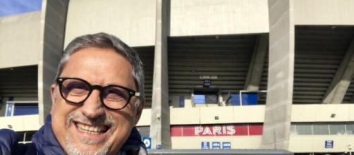 Carlo Alvino, giornalista sportivo noto tifoso del Napoli.