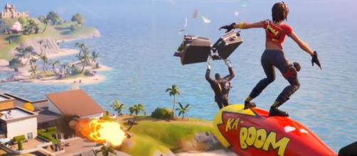 "Glider redeployment might come back to ""Fortnite."" [Image Credit: In-game screenshot]"