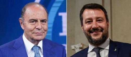 Matteo Salvini d'accordo con Bruno Vespa: 'Aprite il Parlamento'.
