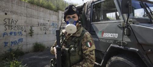 Procedura straordinaria di arruolamento per chiamata diretta nell'Esercito Italiano di 120 ufficiali medici e di 200 sottufficiali infermieri.