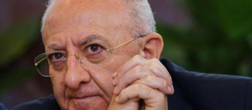Vincenzo De Luca ha annunciato la chiusura dei cantieri in Campania.