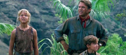 """Atores de """"Jurassic Park"""" nos dias de hoje. (Reprodução/Universal Studios)"""