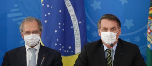 Bolsonaro e Donald Trump testaram negativo para coronavírus. (Arquivo Blasting News)