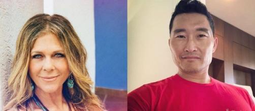 Daniel Dae Kim e Rita Wilson são algumas das celebridades que estão com coronavírus. (Foto: Instagram @ritawilson e @danieldaekim)