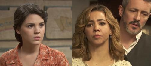 Il Segreto, trame spagnole: Marcela accusa Alfonso e Emilia di averla lasciata sola.