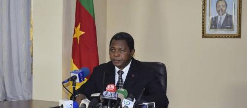 Le Ministre de l'Administration Territoriale du Cameroun, Paul Atanga Nji (c) Minat