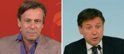 Nicola Porro contro la conferenza stampa di Giuseppe Conte.
