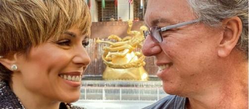 Ana Furtado e Boninho estão completando 24 anos juntos. (Arquivo Blasting News)