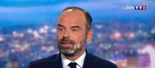 Coronavirus : Edouard Philippe s'exprimera ce soir sur TF1. Credit : TF1 Capture