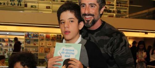 Filho de Marcos Mion viraliza com pedido feito em vídeo e emociona internautas. (Arquivo Blasting News)