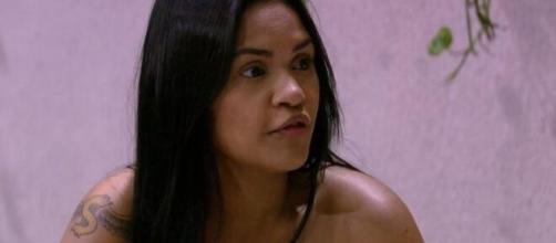 Flayslane fala de Gizelly com Prior no 'BBB20'. (Reprodução/TV Globo)