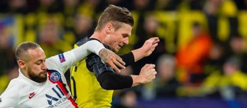Les coulisses du match du PSG contre le Borussia Dortmund. Credit : Instagram/bvb09