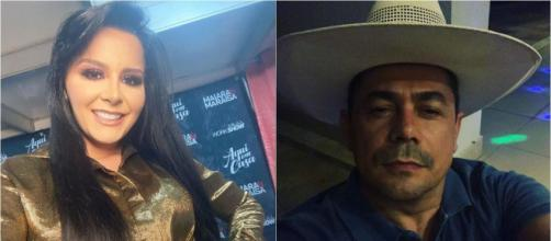 Maraisa e Fabricio passam a quarentena na fazenda da cantora. (Reprodução/Instagram/@maraisa/@fabricio)