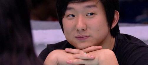 """Pyong foi o oitavo eliminado do """"Big Brother Brasil"""". (Reprodução/TV Globo)"""