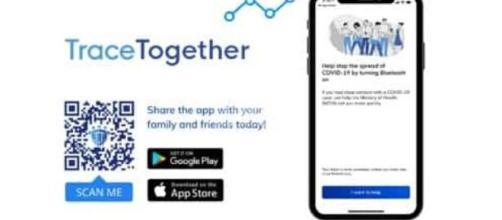 TraceTogether, app per arginare il contagio da Coronavirus