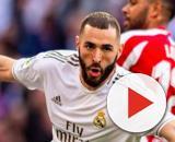 Benzema a fait un Live où il a défendu Valère Germain. Credit : Instagram/realmadrid