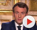 Coronavirus, Emmanuel Macron a annoncé des mesures plus strictes. Credit : Capture TF1