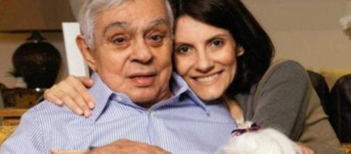 Chico Anysio foi casado com Malga de Paula. (Arquivo Blasting News)