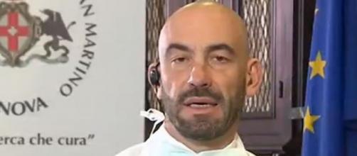 L'infettivologo Matteo Bassetti.