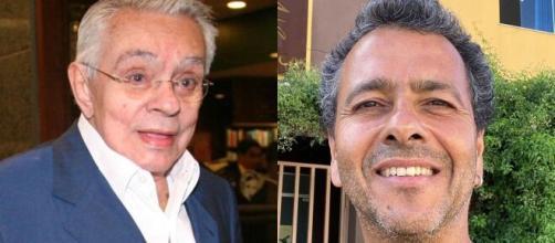 Marcos Palmeira e Chyco Anysio, o talento no 'DNA'. (Arquivo Blasting News)