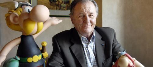 O desenhista Albert Uderzo, um dos criadores da Turma do Astérix. Morte foi natural. (Arquivo Blasting News)