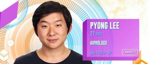 """Pyong Lee fora do """"BBB 20"""". (Reprodução/TV Globo)"""
