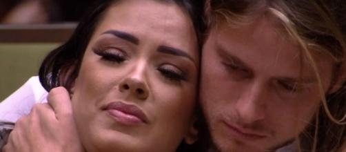 Rejeitados, Daniel e Ivy deveriam sair juntos no paredão. (Reprodução/TV Globo)