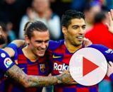 Griezmann et Umtiti sur le départ du Barça. Credit : Instagram/fcbarcelona