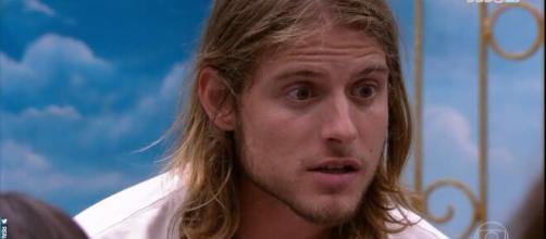 Daniel é eliminado com rejeição. (Reprodução/TV Globo)