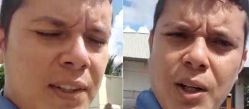 Eletricista gravou um vídeo para falar de sua demissão. (Arquivo Blasting News).