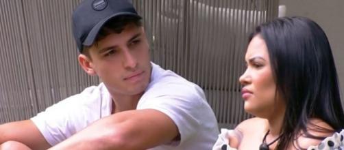 Felipe Prior detona Mari Gonzalez durante desabafo de Flayslane Raiane sobre treta na madrugada do 'BBB20'. (Reprodução/TV Globo)