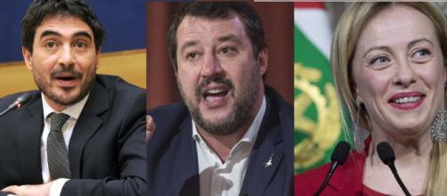 ìFratoianni attacca Salvini e Meloni che hanno diffuso video del TGR di 5 anni su un virus creato in laboratorio, diverso dal covid-19.