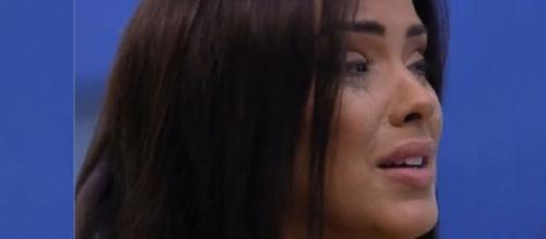Ivy se mostrou inconsolável após a saída do amigo, Daniel. (Reprodução/ TV Globo).