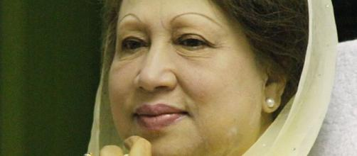 Khaleda Zia was released from jail. Credit : Mohammed Tawsif Salam