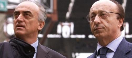 Nella foto Antonio Giraudo e Luciano Moggi.