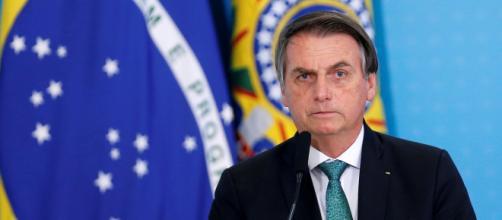 Segundo o presidente Bolsonaro a mídia causou pânico na população brasileira sobre o Covid-19. (Arquivo Blasting News)