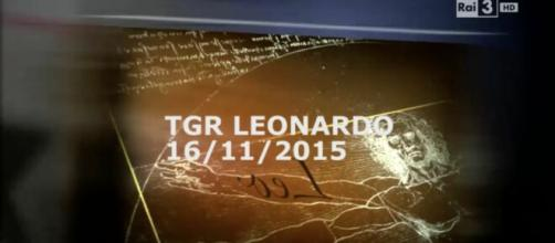Uno screenshot di TG Leonardo del 2015