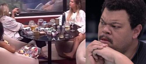 """Web não perdoa brincadeira que planejava """"morte"""" de Babu e detona sisters. (Foto: Montagem/Globo)."""