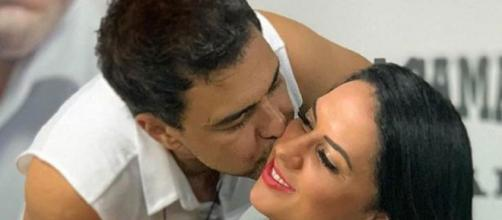 Zezé Di Camargo e a mulher Graciele Lacerda. (Arquivo Blasting News)
