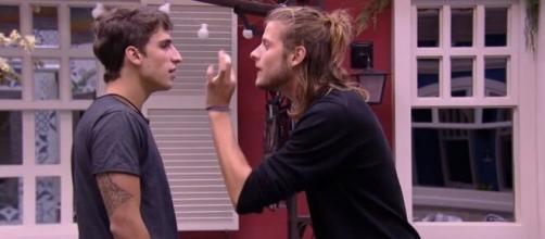 Daniel diz que teria possibilidade de ficar com Prior. (Reprodução/TV Globo)