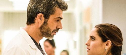 Doc-Nelle tue mani, anticipazioni seconda puntata: Andrea vuole riconquistare l'ex moglie