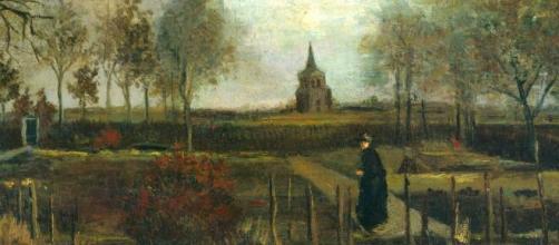 """El cuadro artístico """"Spring Garden"""" (Jardín de Primavera), de Vincent Van Gogh, fue sustraído del Museo Singer, en la ciudad holandesa de Laren."""