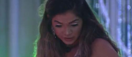 Gizelly conversa com Ivy sobre Flayslane. (Reprodução/TV Globo)