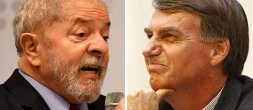 Luís Inácio Lula da Silva criticou fala de Jair Bolsonaro nas redes sociais. (Arquivo Blasting News)