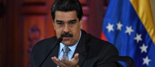 Nicolás Maduro já rebate Donald Trump em algumas ocasiões. (Arquivo Blasting News)