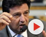 Ministro da Saúde, Luiz Henrique Mandetta fala sobre o coronavírus. (Arquivo Blasting News)